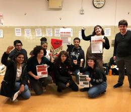 Student solidarity is driving the movement at Brooklyn College