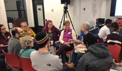 Campus breakout group at the #7KorStrike Conference
