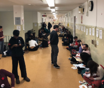 Brooklyn College draws a crowd!