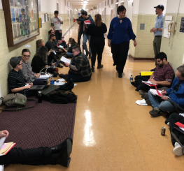 Grade-in at Brooklyn College